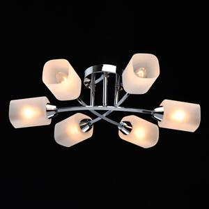 Lampă cu pandantiv Olympia Megapolis 6 Chrome - 638015406 small 1