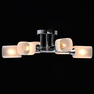 Lampă cu pandantiv Olympia Megapolis 6 Chrome - 638015406 small 2