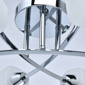 Lampă cu pandantiv Olympia Megapolis 6 Chrome - 638015406 small 6