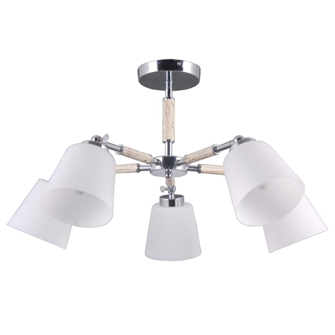Lampa suspendată Forest Megapolis 5 Chrome - 693012205
