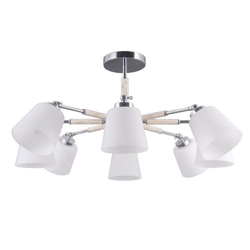 Lampa suspendată Forest Megapolis 8 Chrome - 693012308