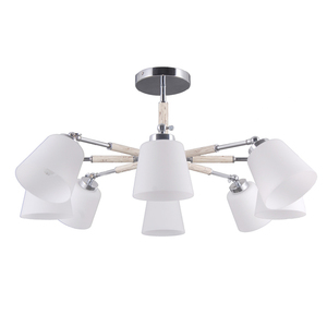 Lampa suspendată Forest Megapolis 8 Chrome - 693012308 small 0