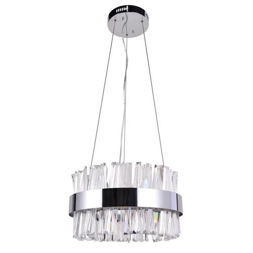 Lampa suspendată Adelard Crystal 55 Chrome - 642014501