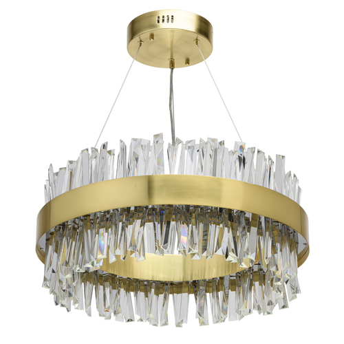 Lampa suspendată Adelard Crystal 68 Gold - 642014901