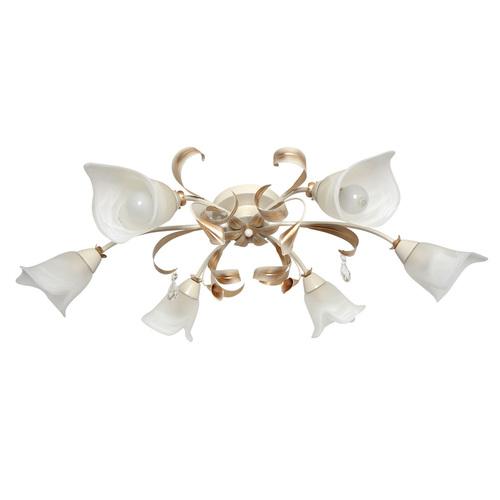 Lampa suspendată Verona Flora 6 Beige - 242017406
