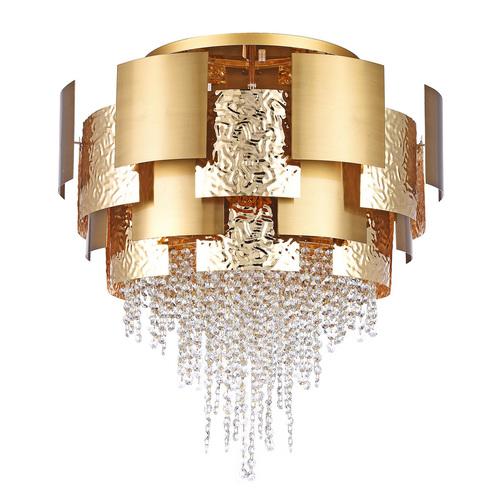 Lampa suspendată Carmen Crystal 16 Aur - 394011816