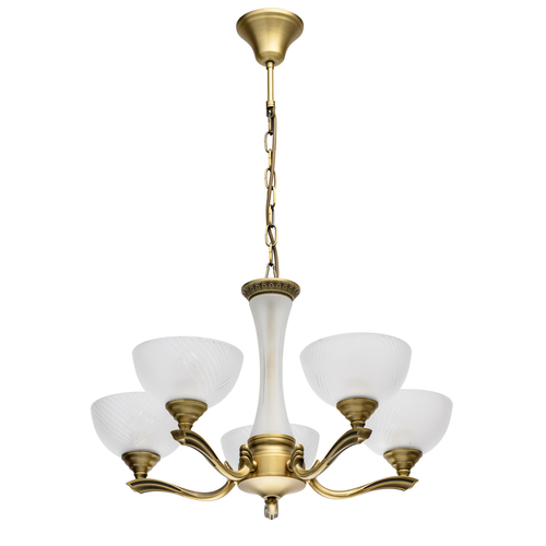 Lampa suspendată Classic 5 Brass - 317014705