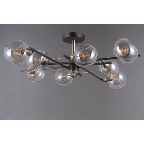 Lampa suspendată Megapolis 8 Negru - 605013908