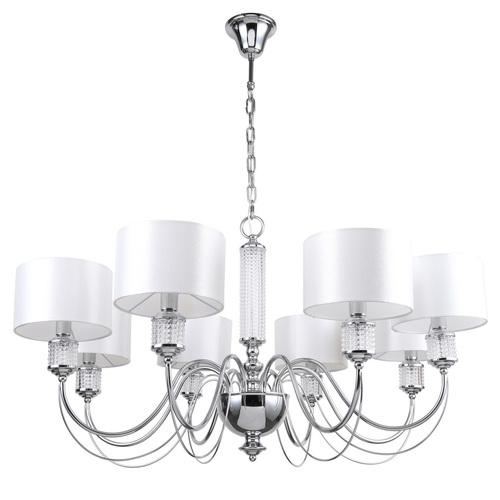 Lampa suspendată Elegance 8 Chrome - 692011308