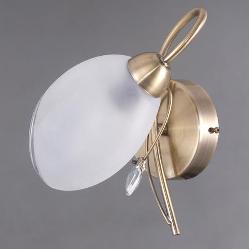 Lampă de perete Monica Classic 1 Brass - 372023901