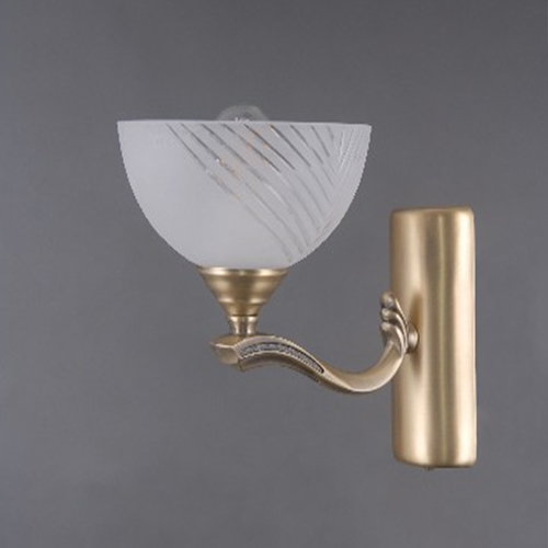 Lampă de perete Aphrodite Classic 1 Brass - 317024601