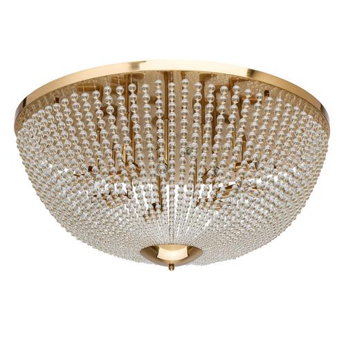Lampă de tavan Venezia Crystal 15 din alamă - 111012815