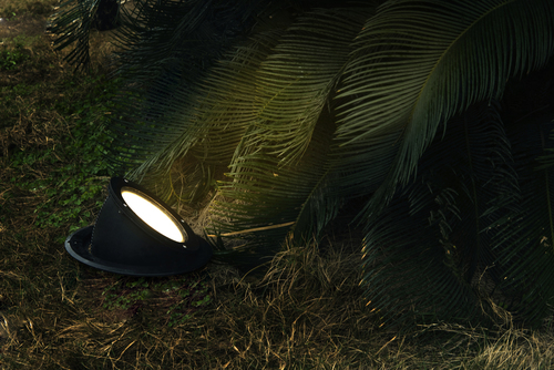 Lampa de exterior încastrată în pământ Lutec ARCTIC