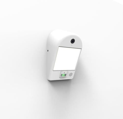 Aplica de exterior cu aparat foto, difuzor și senzor de mișcare Lutec MIMO