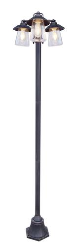 Lanterna de gradina industriala in 3 puncte Lutec CATE