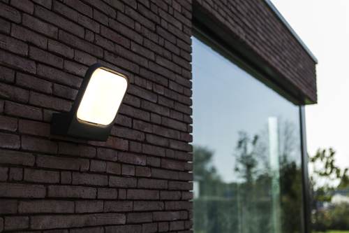 Lampa de perete exterior antracit Lutec FACCIA