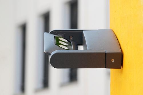 Aplica modernă de exterior cu Lutec MINI LEDSPOT reglabil