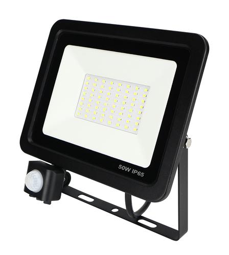 Lampa de inundare LED ZeXt cu senzor de mișcare 50W / 230V 6400K PIR
