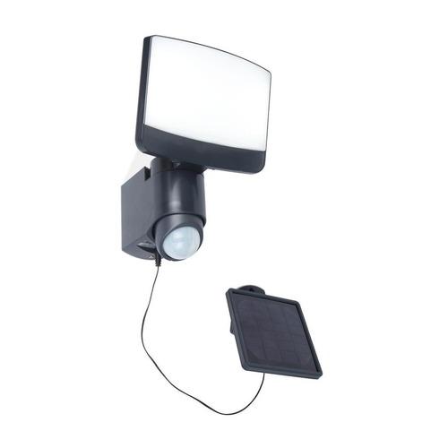 Lampa solară de exterior cu senzor de mișcare Lutec SUNSHINE