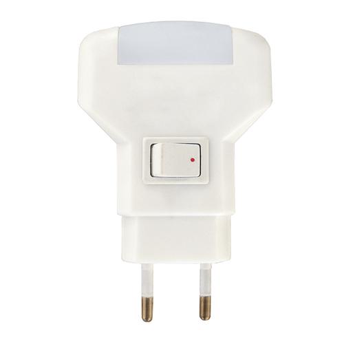 Mini lampă de economisire a energiei 1W 230V alb