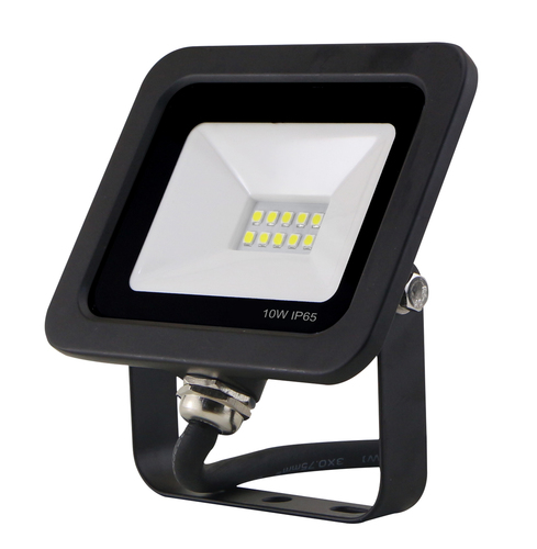 Lampa de inundare LED subțire cu senzor de mișcare 10W / 230V 6400K