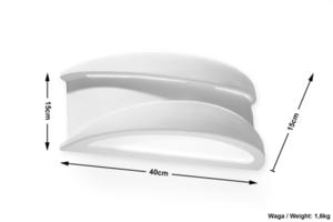 Aplica de ceramica APOL small 5