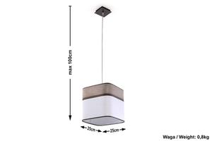 Lampa suspendată Cappuccino small 4