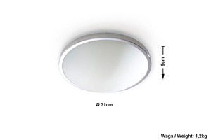 Plafonul SOLAR 30 crom small 3
