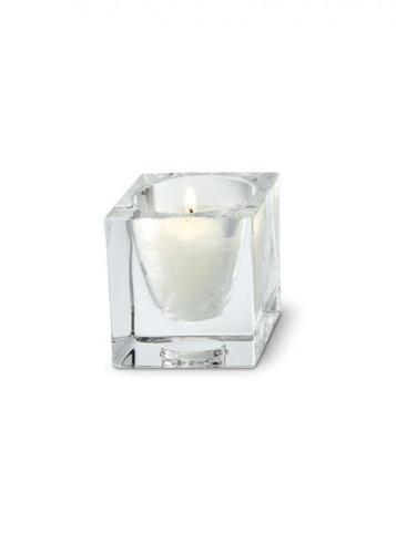 Decoratiunea Fabbian Cubetto D28 pentru o lumânare - Transparent - D28 Z01 00