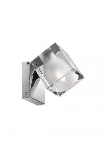 Spotlight Fabbian Cubetto D28 5W Chrome - Transparent - D28 G04 00