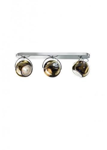 Fabbian Beluga Color D57 7W lampă de tavan Triple - cupru - D57 G25 41