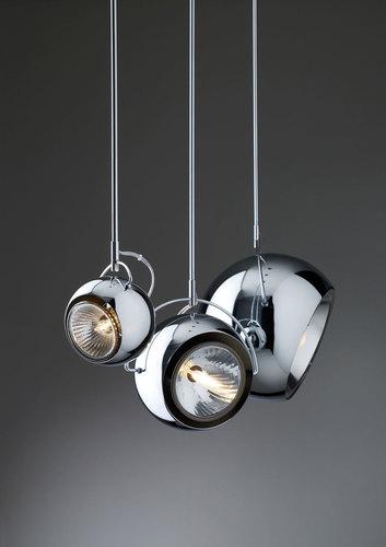 Lampa suspendată Fabbian Beluga Steel D57 13W 20cm - D57 A09 15