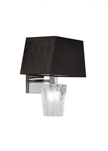 Lampă de perete Fabbian Vicky D69 5W - negru - D69 D03 02