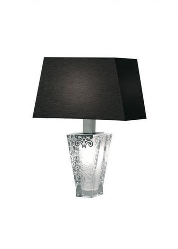 Fabbian Vicky D69 5W lampă de birou + nuanță - negru - D69 B03 02