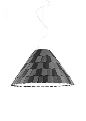 Lampa suspendată Fabbian Roofer F12 76cm - antracit - F12 A03 21