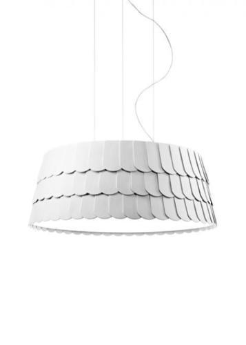 Lampa suspendată Fabbian Roofer F12 79cm - Alb - F12 A07 01
