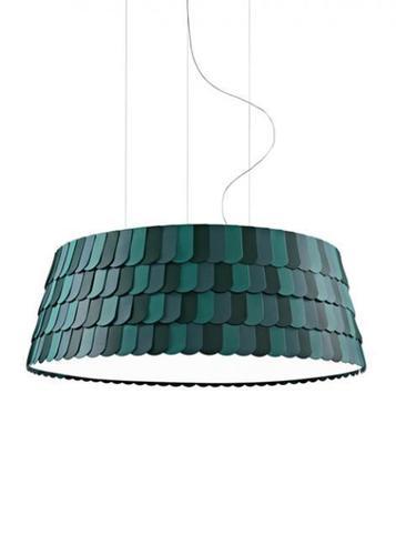 Lampa suspendată Fabbian Roofer F12 119cm - Verde - F12 A09 43
