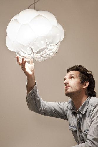 Lampa suspendată Fabbian Cloudy F21 7W 26cm - F21 A01 71
