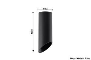 Plafonier negru PENNE 40 small 5