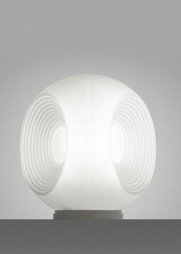 Lampa suspendată Fabbian Eyes F34 10W Creț crom - Alb - F34 B01 01