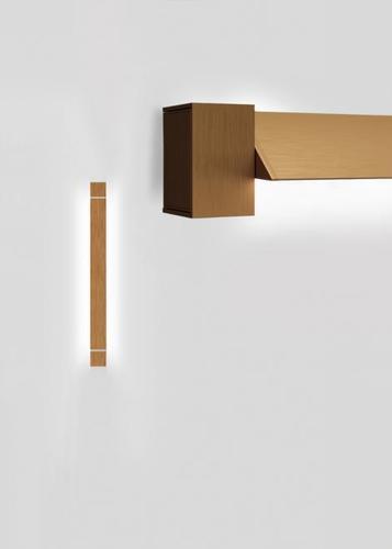 Lampă de perete Fabbian Pivot F39 23W 2700K - Bronz - F39 G02 76