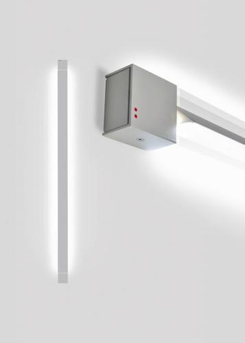 Lampă de perete Fabbian Pivot F39 46W 2700K - Gri deschis - F39 G04 75