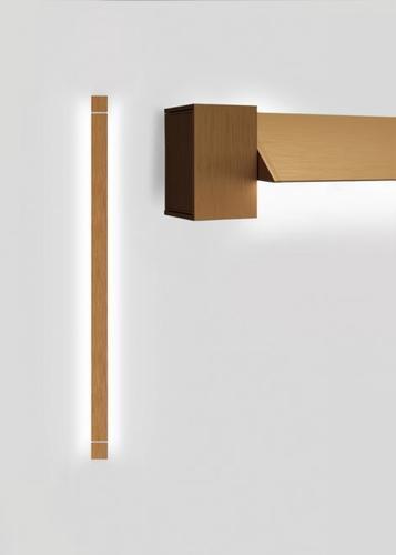 Lampă de perete Fabbian Pivot F39 46W 2700K - Bronz - F39 G04 76