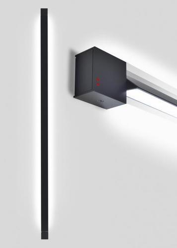 Lampă de perete Fabbian Pivot F39 70W 2700K - Antracit - F39 G06 21