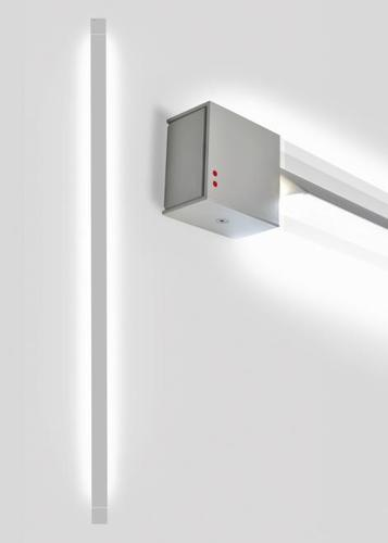 Lampă de perete Fabbian Pivot F39 70W 2700K - Gri deschis - F39 G06 75