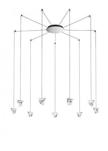 Lampa suspendată Fabbian Tripla F41 3W 9 - Chrome - F41 G06 11