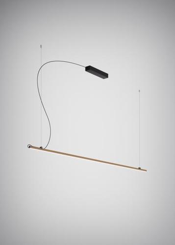 Lampa suspendată Fabbian Freeline F44 8W 2m - Bronz - F44 A04 76