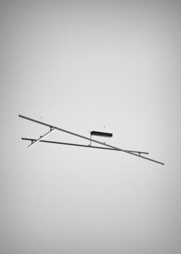 Fabbian Freeline F44 4W 3000K lampă de tavan - Negru - F44 E01 02