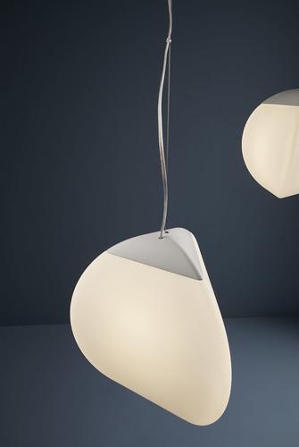 Lampa suspendată Fabbian Fruitfull F51 14W 26.5cm 2700K - Alb - F51 A04 01