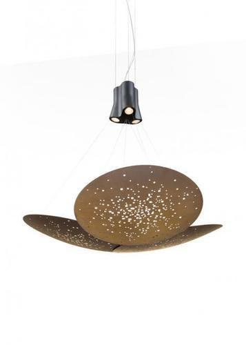 Lampa suspendată Fabbian Lens F46 24W 161x152cm - Maro - F46 A07 76